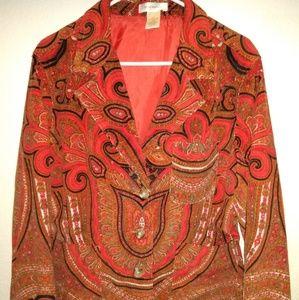Isaac Mizrahi  blazer jacket